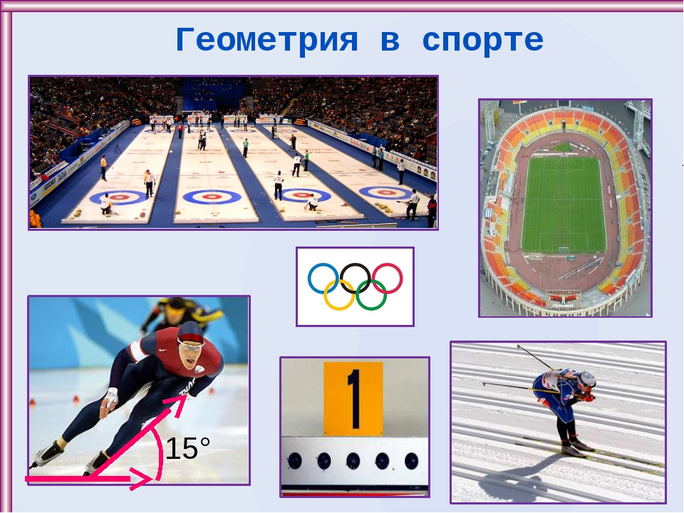 Геометрия в спорте 15°