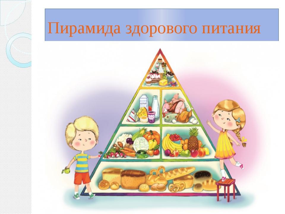 здоровое питание пирамида питания картинки думают, что