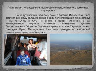 Глава вторая. Исследование зооаморфного мегалитического комплекса «Куркужин»