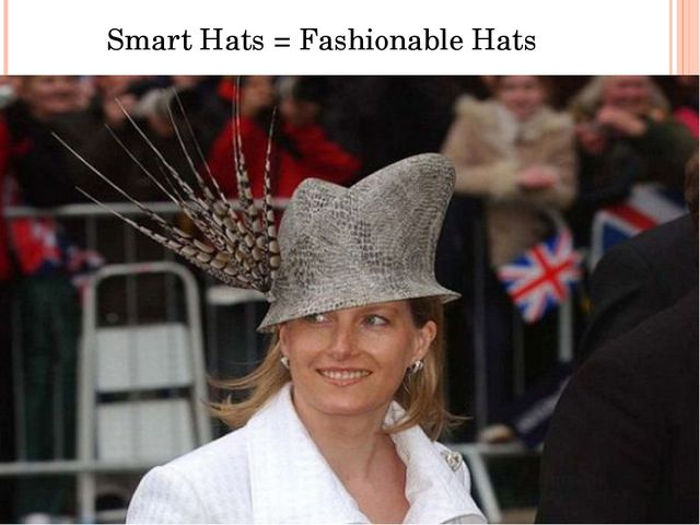 Smart Hats = Fashionable Hats