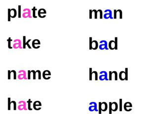 plate take name hate man bad hand apple