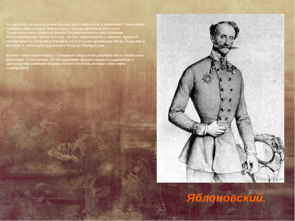 Оставалось до начала решительных действий войти в сношение с польскими тайным...