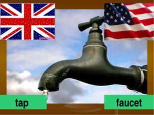 tap faucet