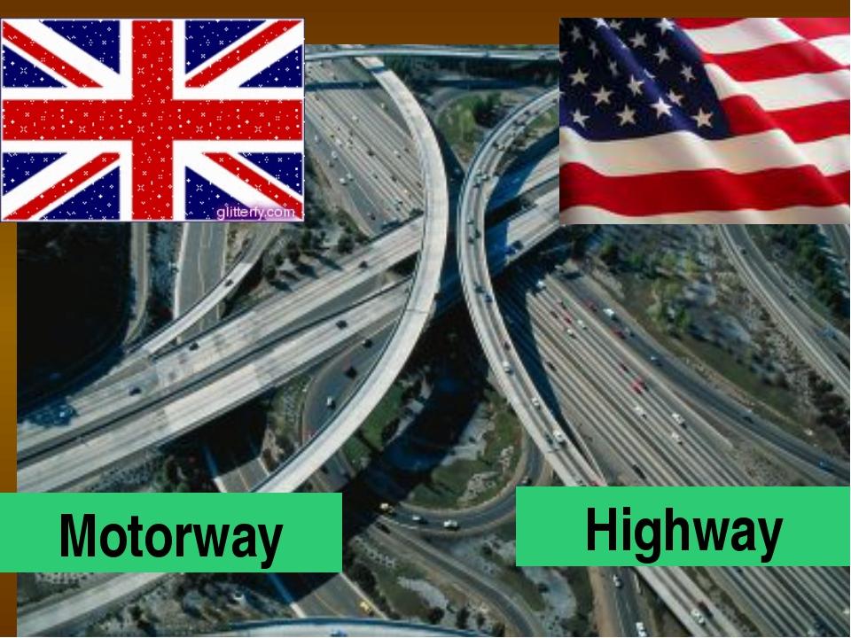 Motorway Highway