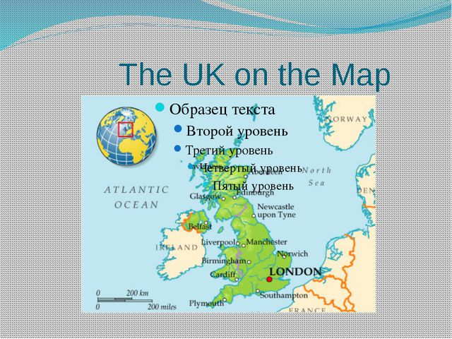The UK on the Map