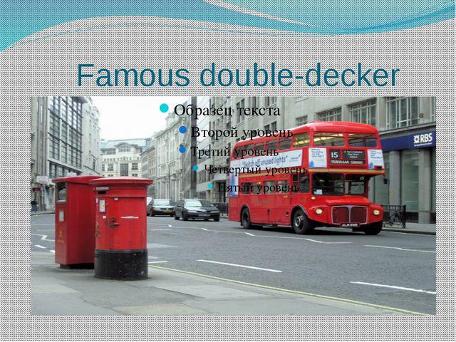 Famous double-decker