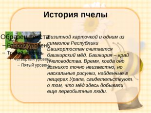 История пчелы Визитной карточкой и одним из символов Республики Башкортостан