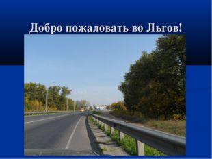 Добро пожаловать во Льгов!