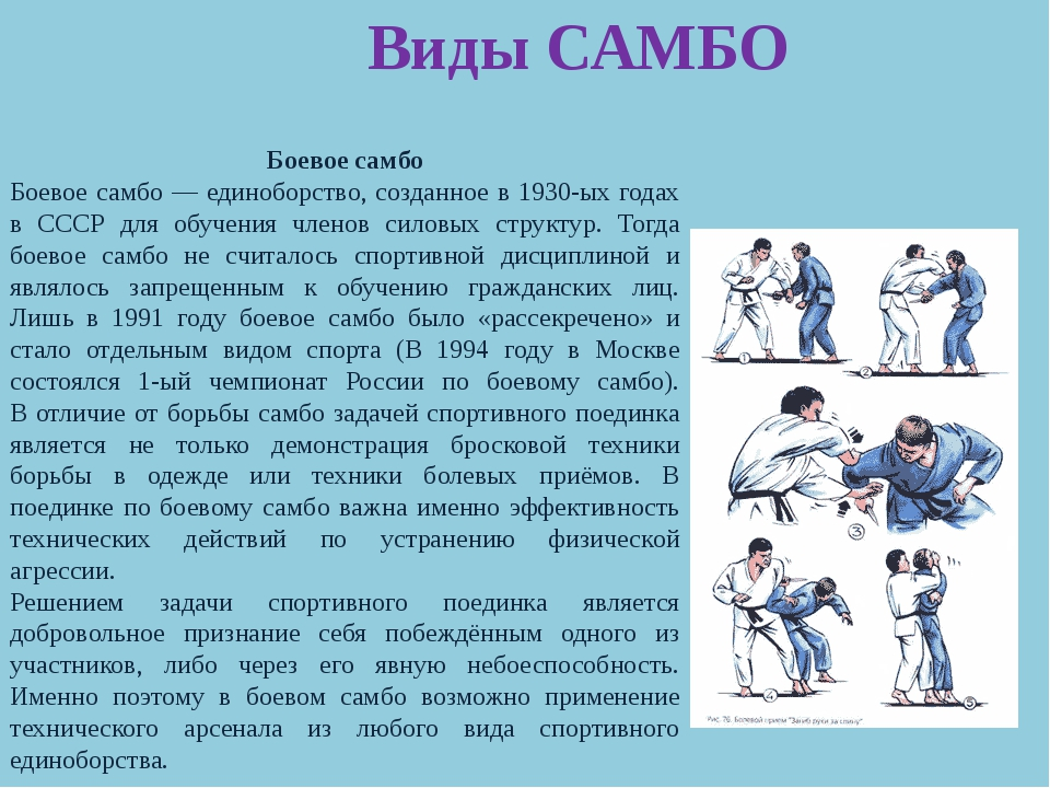 Скачать книгу боевое самбо для всех