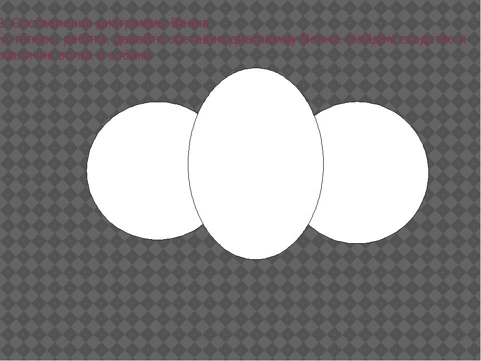 2. Составление диаграммы Венна. А теперь, ребята, давайте составим диаграмму...