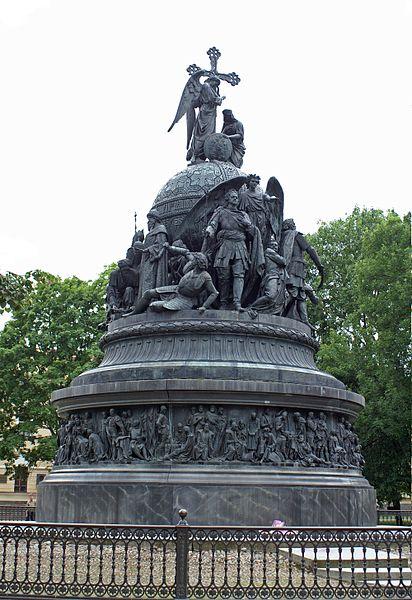 File:Millennium of Russia Monument in Nowgorod, 2005.jpg