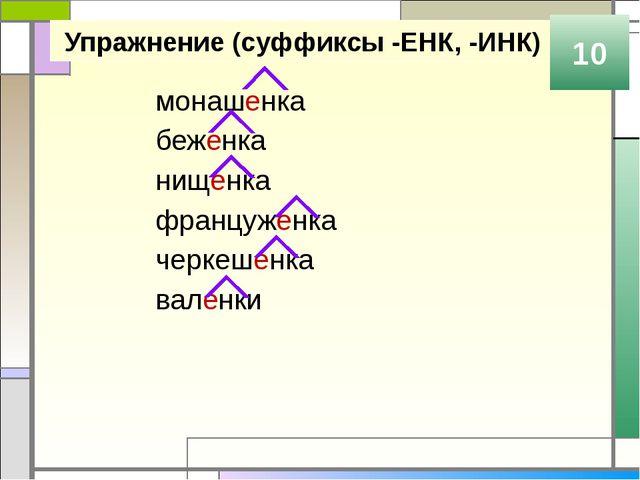 Правописание суффиксов -ЕВ, -ИВ 10 -ЕВ -ИВ пишется в безударном положении -ЕВ...