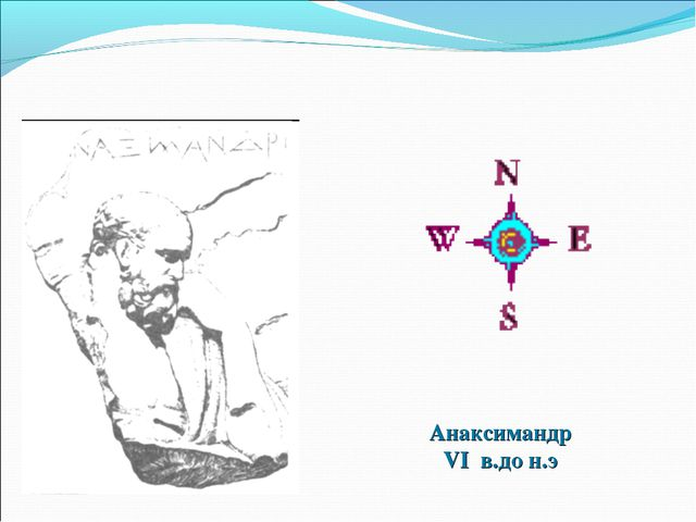Анаксимандр VI в.до н.э