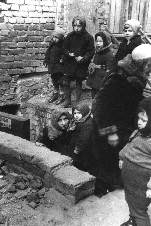 Блокада Ленинграда (48 фото)