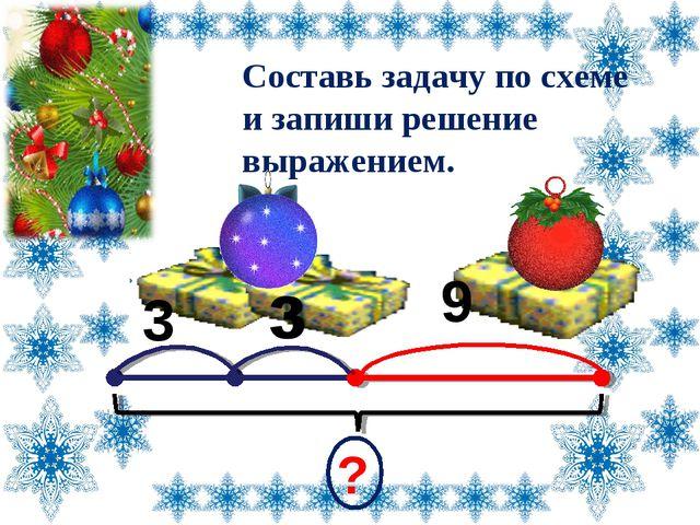 3 ? Составь задачу по схеме и запиши решение выражением. 9 Лазарева Лидия Ан...