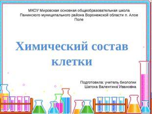 МКОУ Мировская основная общеобразовательная школа Панинского муниципального