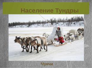 Население Тундры Чукчи