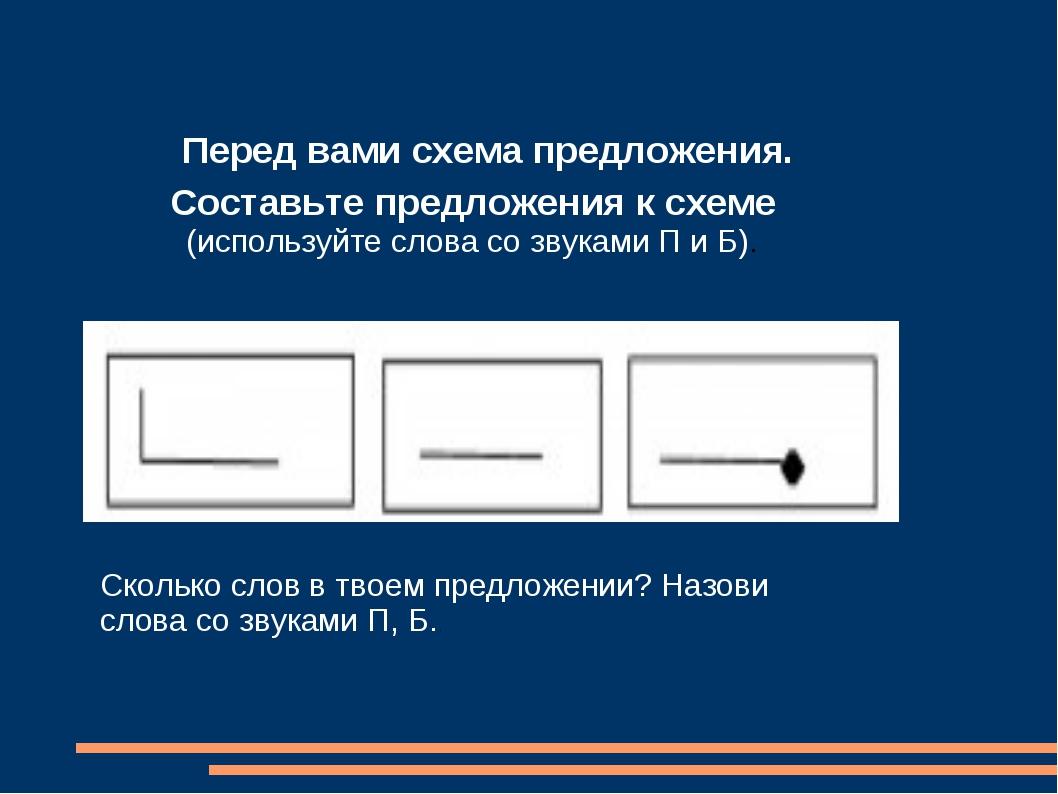 Перед вами схема предложения. Составьте предложения к схеме (используйте слов...