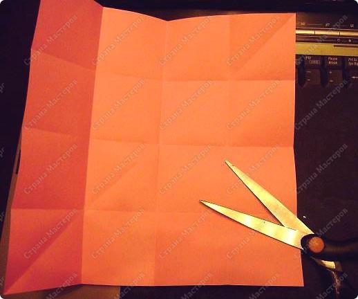 Мастер-класс День Победы Оригами Гвоздичка к Дню Победы Бумага фото 3