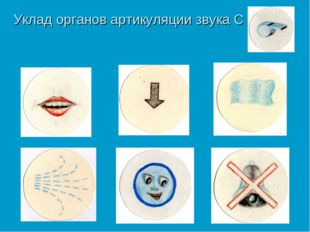 Уклад органов артикуляции звука С