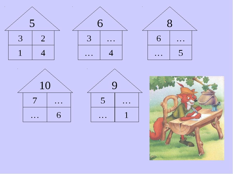 3 5 1 3 … … 4 … 2 6 … 4 5 6 8 … 6 7 … … 5 1 … 9 10