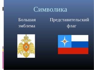Символика Большая Представительский эмблема флаг