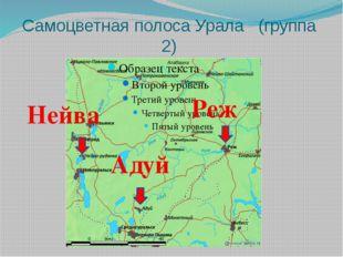 Самоцветная полоса Урала (группа 2) Нейва Адуй Реж