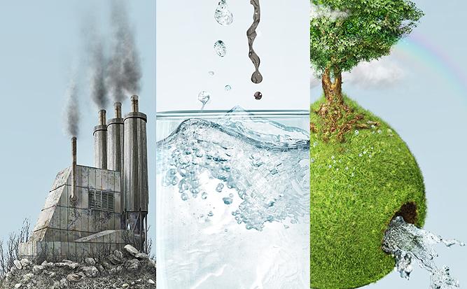 Как нарисовать плакат по экологии фото Сайт о рисовании