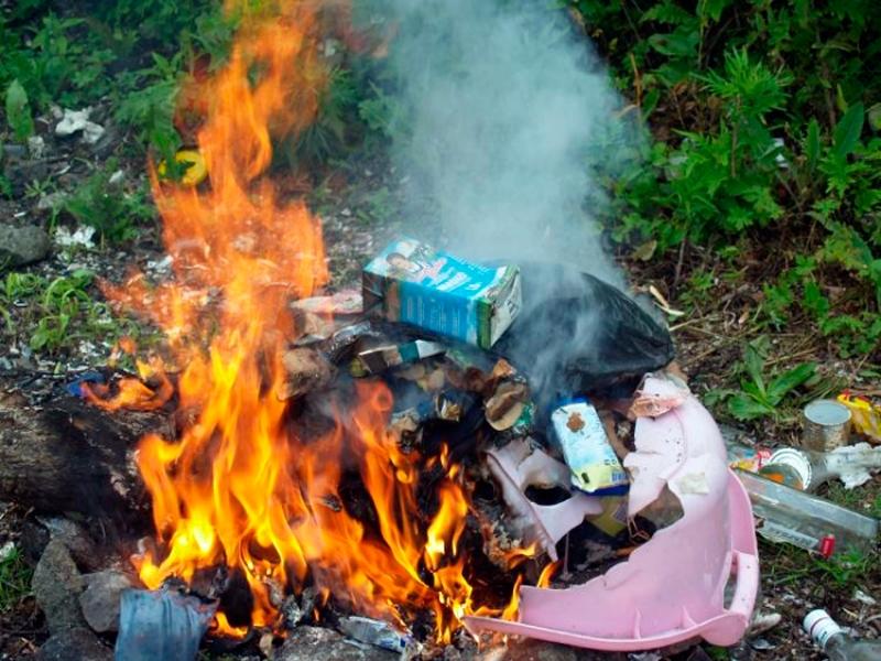 Администрация МО Староминский район - Новости: Сжигание мусо…