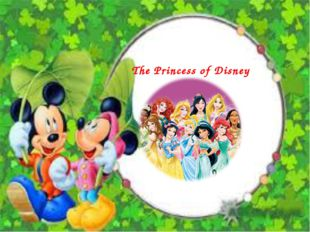 The Princess of Disney