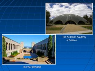 . The War Memorial The Australian Academy of Science