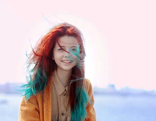 Смешные волосы Лены Шейдлиной
