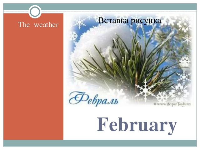 February The weather
