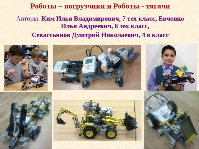 Авторы: Ким Илья Владимирович, 7 тех класс, Евченко Илья Андреевич, 6 тех кла...