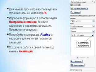 Для начала просмотра воспользуйтесь функциональной клавишей F5 Изучите информ
