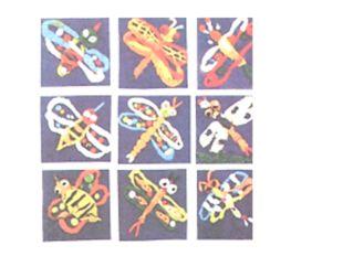 Посмотри на аппликации из пластилина, выполненные шестилетними художниками: в