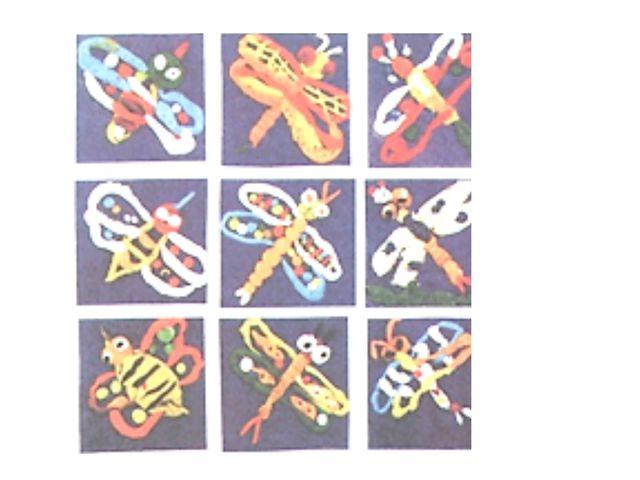 Посмотри на аппликации из пластилина, выполненные шестилетними художниками: в...
