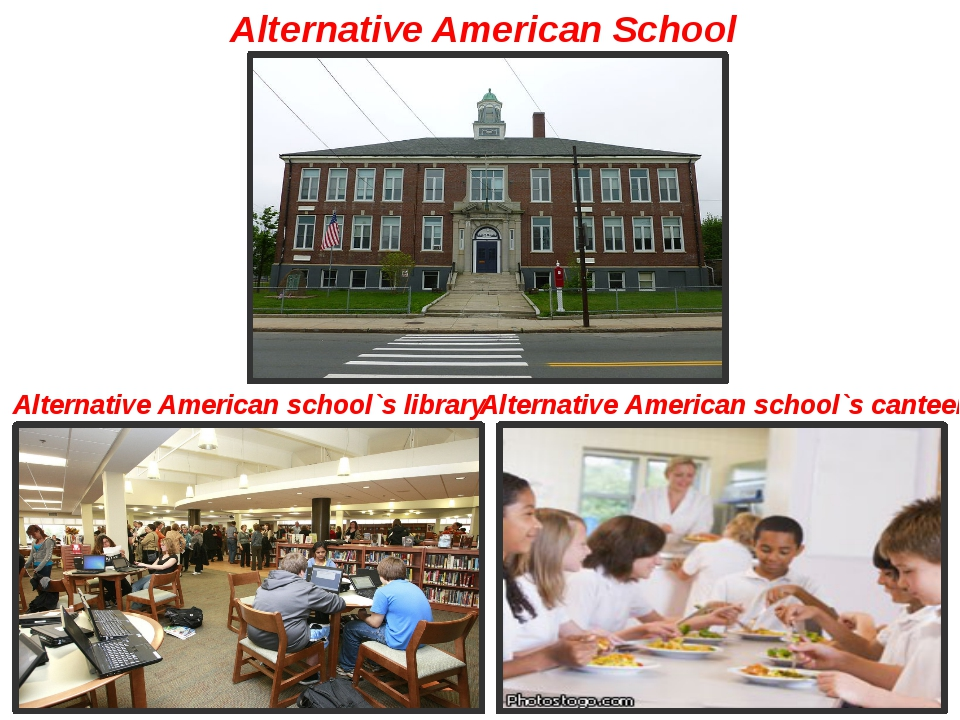 Alternative American School Alternative American school`s library Alternative...