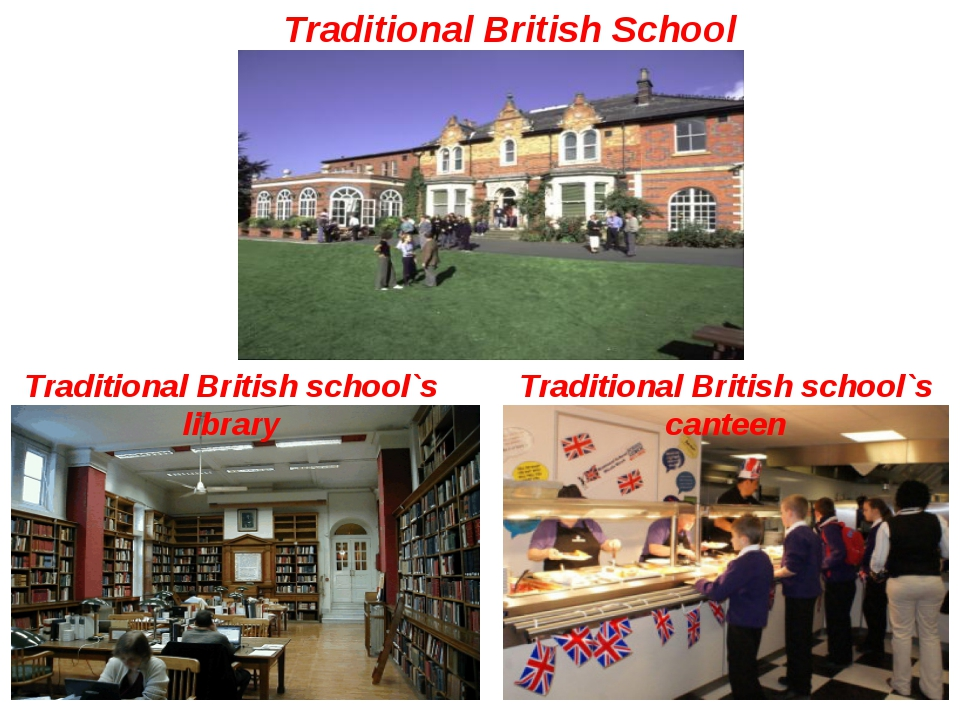 Traditional British School Traditional British school`s library Traditional...