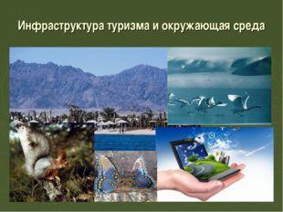 Инфраструктура туризма и окружающая среда