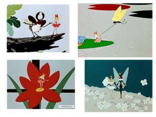 Многие художники, иллюстрируя сказки, часто используют приём сравнения. Чтобы