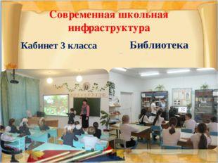 Современная школьная инфраструктура Кабинет 3 класса Библиотека