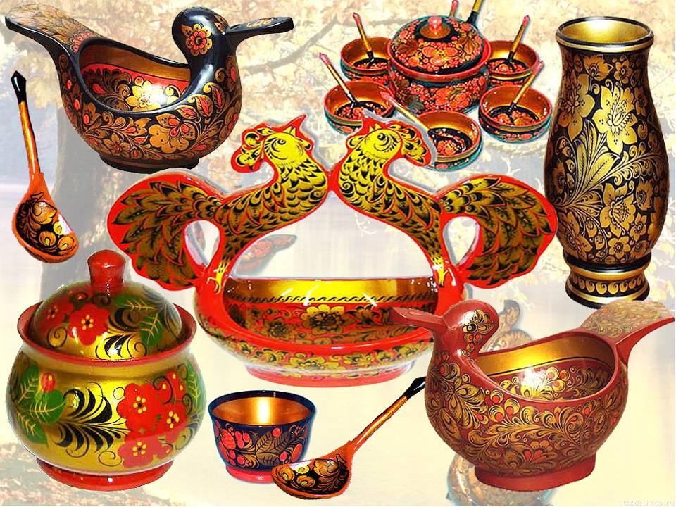 Русская народное искусство в картинках