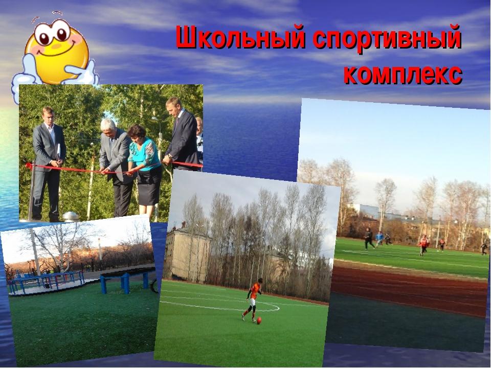 Школьный спортивный комплекс