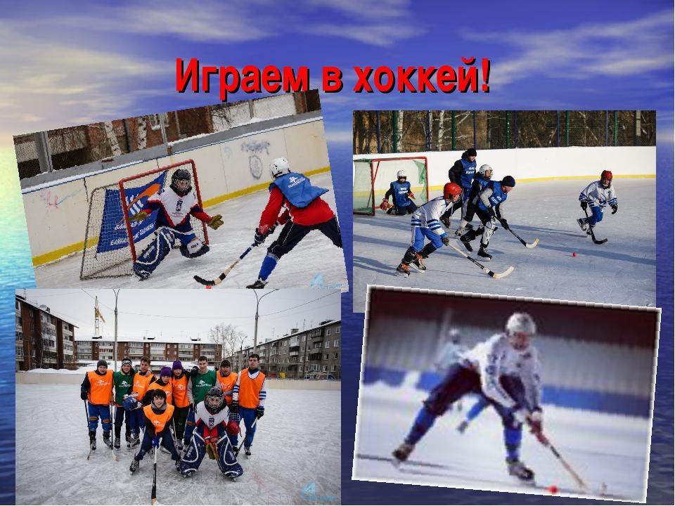 Играем в хоккей!