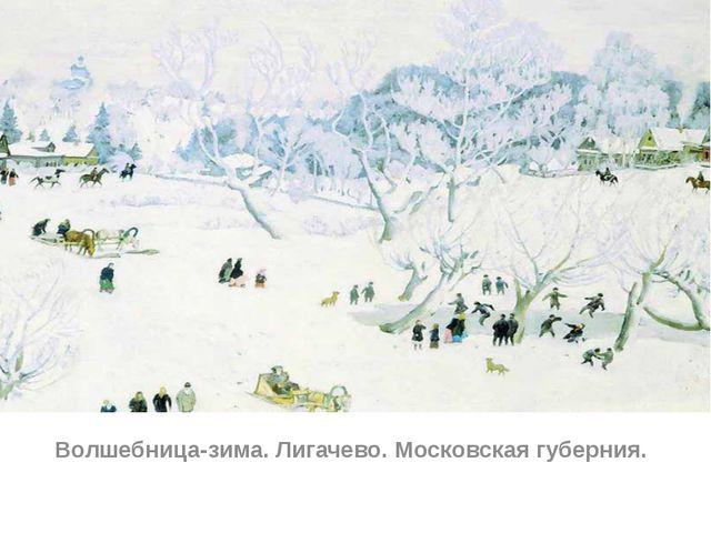 Волшебница-зима. Лигачево. Московская губерния.