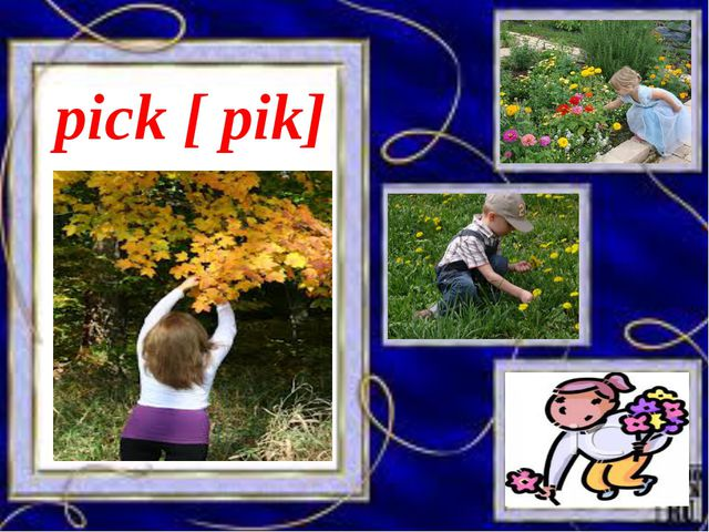 pick [ pik]
