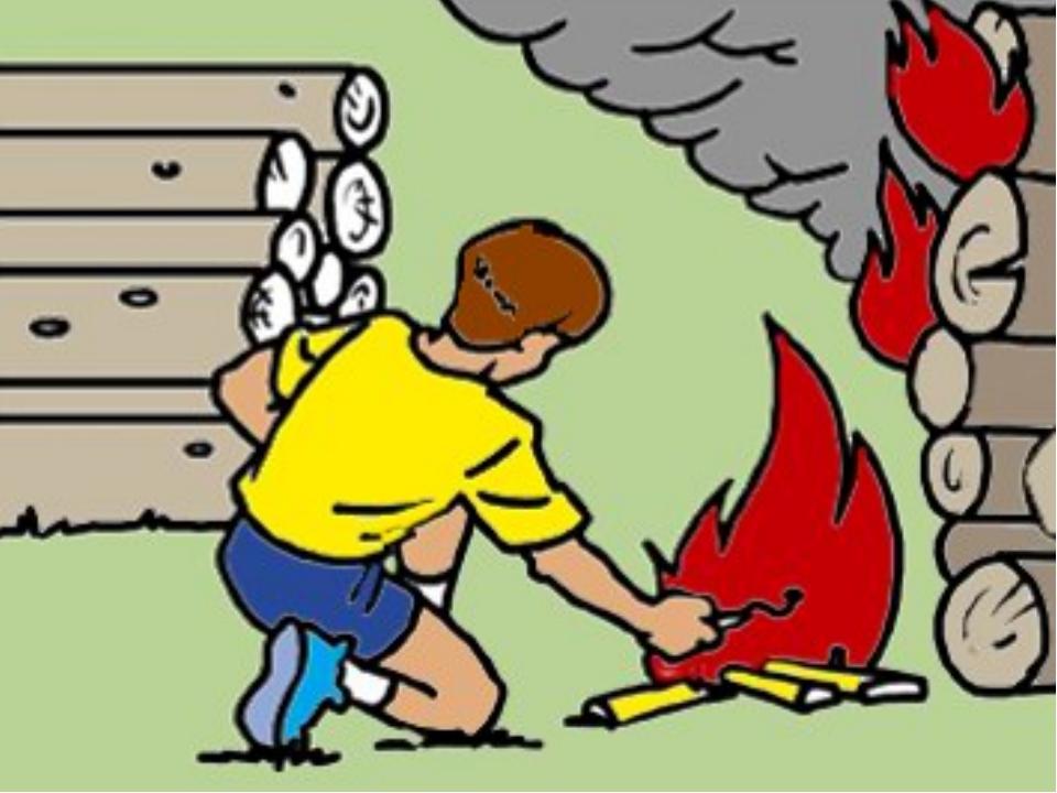 Чем опасен пожар в картинках