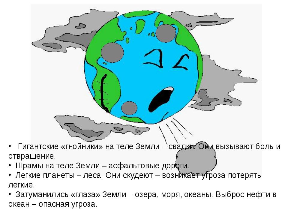 Гигантские «гнойники» на теле Земли – свалки. Они вызывают боль и отвращение...