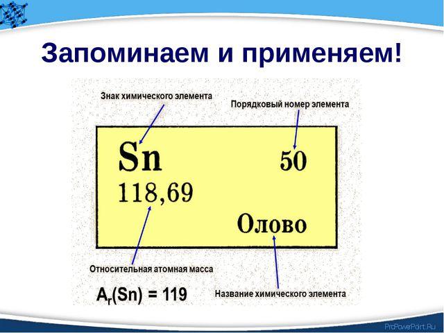 Запоминаем и применяем! ProPowerPoint.Ru